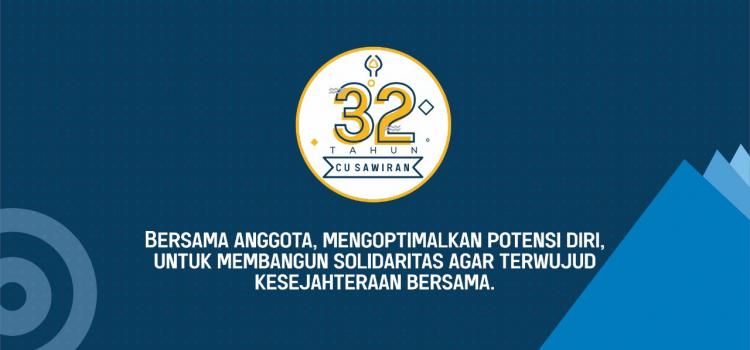 32 tahun CU Sawiran